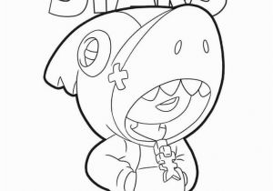 Ink Bendy Coloring Pages Shark Lean Skin From Brawl Stars Brawlstars Fanart