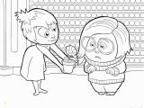 Inside Out Sadness Coloring Page Joy and Sadness Inside Out Coloring Pages Printable