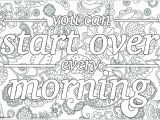 Inspirational Quote Coloring Pages for Adults 20 Free Printable Printable Adult Coloring Pages Quotes