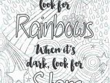 Inspirational Quote Coloring Pages for Adults Adult Inspirational Coloring Page Printable 02 Look for