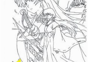 Inuyasha Coloring Pages 1515 Best Coloring Sheets Images In 2018