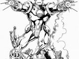 Invincible Iron Man Coloring Page Iron Man by Bob Layton