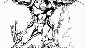 Invincible Iron Man Coloring Page Iron Man by Bob Layton