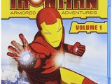 Iron Man Armored Adventures Coloring Pages Amazon Iron Man Armored Adventures Vol 1 [blu Ray