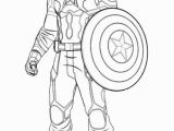 Iron Man Civil War Coloring Pages Captain America Schild Malvorlage