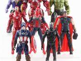 Iron Man Infinity War Coloring Avengers 3 Infinity War Hulk Black Panther Thor Captain America Spiderman Thanos Iron Man Pvc Figure Marvel Legends toys for Boy