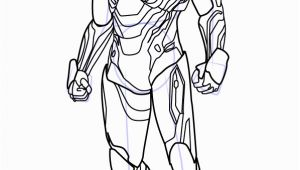 Iron Man Infinity War Coloring Pages Step by Step How to Draw Iron Man From Avengers Infinity