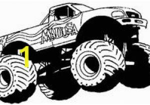 Iron Man Monster Truck Coloring Page 9 Best Monster Truck Images