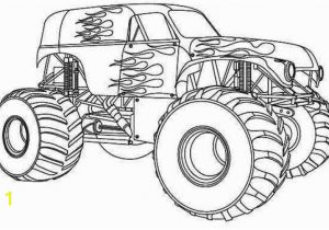Iron Man Monster Truck Coloring Page Free Monster Truck Coloring Page