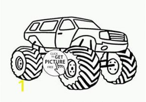 Iron Man Monster Truck Coloring Page Terminator Monster Truck From Show Coloring Page for Kids