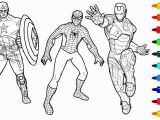 Iron Man Vs Captain America Coloring Pages 27 Wonderful Image Of Coloring Pages Spiderman with Images