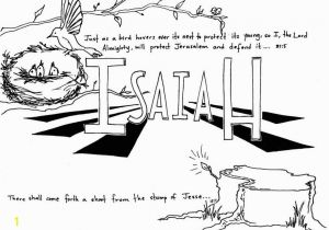 """Isaiah Coloring Pages for Kids Book Of isaiah"""" Bible Coloring Page Free Printable"""