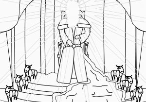 Isaiah Coloring Pages for Kids isaiah Coloring Page I Saw the Lord High and Lifted Up Seated On
