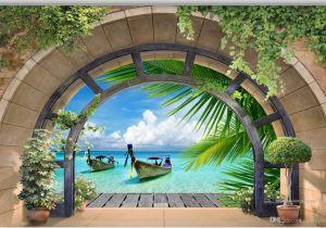 Italian Landscape Murals 3d Wallpaper Custom 3d Wall Murals Wallpaper Mural Arches