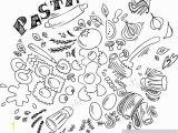 Italian Restaurant Wall Murals Pasta and Ingre Nts for Cooking Italian Food Wall Mural Vinyl