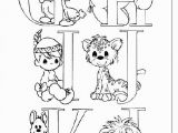 J is for Coloring Page Precious Moments G to J Abcs