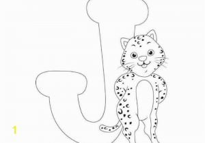 J is for Jaguar Coloring Page Free Printable Letter J Jaguar Coloring Pages for Kids Funnycrafts