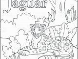 J is for Jaguar Coloring Page Ilustración De Página Para Colorear Alfabeto De Animales De Dibujos Animados J Es Para Jaguar Y
