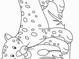 J is for Jaguar Coloring Page J for Jaguar Coloring Page for Kids