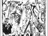 Jack Nightmare before Christmas Coloring Pages Jack Skellington Coloring Pages Free