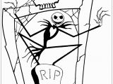 Jack Nightmare before Christmas Coloring Pages the Nightmare before Christmas Coloring Pages