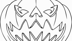 Jack O Lantern Coloring Page Halloween to Print and Color for Free