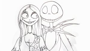 Jack Skeleton Coloring Pages Jack Skellington and Sally Sketch Google Search