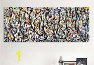 Jackson Pollock Mural Print Jackson Pollock Abstract Art Nz
