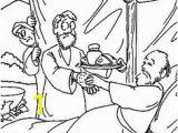 Jacob and Esau Reunite Coloring Page ♥ Maestra Dominical♥ Jacob Y Esaº Nacimiento