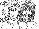 Jacob and Esau Reunite Coloring Page Jacob and Esau Coloring Page