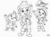 Jake and the Neverland Coloring Pages Jake and the Neverland Pirates Colouring Page Printable