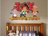 Jake and the Neverland Pirates Wall Mural Peter Pan Wall Decal