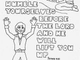 James Charles Coloring Pages Humble Yourselves James 4 10 Coloring Page