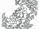 Japanese Cherry Blossom Coloring Pages 2608 Best Flower Coloring Images On Pinterest