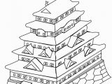 Japanese Cherry Blossom Coloring Pages Japanese Coloring Pages