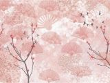 Japanese Cherry Blossom Wall Mural A Delightful Fantasy Of Japan and Cherry Trees In Bloom