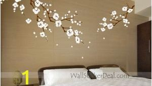 Japanese Cherry Blossom Wall Mural Japanese Cherry Blossom Wall Art Decals