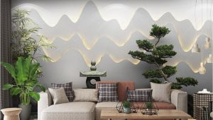 Japanese Garden Wall Murals Retail 3d Three Dimensional Zen Garden Landscape Background Wall