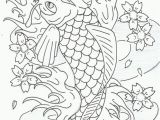 Japanese Koi Fish Coloring Pages Awesome Koi Fish Coloring Sheet Design