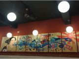 Japanese Murals for Walls E Of the Best Japanese Restraunt In town Picture Of
