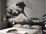 Japanese Murals for Walls Japanese the Great Wave F Kanagawa by Hokusai Wall Decal