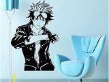 Japanese Style Wall Murals Anime Manga Boy Guy Japanese Style Wall Vinyl Sticker Decal
