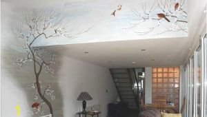 Japanese Style Wall Murals Interior Decorating with Japanese Wall Murals Design