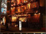 Japanese Style Wall Murals Retro Japanese Izakaya Wallpapers Mural for Japanese