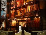 Japanese Style Wall Murals Us $11 47 Off Retro Japanese Izakaya Wallpapers Mural for Japanese Rotisserie Sushi Restaurant Industrial Decor Wallpaper 3d Wall Paper In