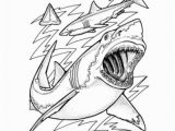 Jaws Coloring Pages Free Learn About Sharks with Free Printables