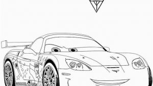 Jeff Gorvette Coloring Page Cars 2 Jeff Corvette Printable Coloring Page