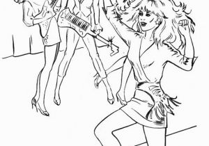 Jem and the Holograms Coloring Pages Coloring Book Jem E Le Holograms
