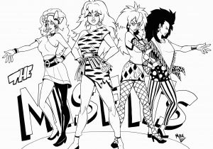 Jem and the Holograms Coloring Pages Jem and the Holograms Misfits Stormer Google Search
