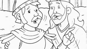 Jesus and the Centurion S Servant Coloring Page Coloring Page Centurion